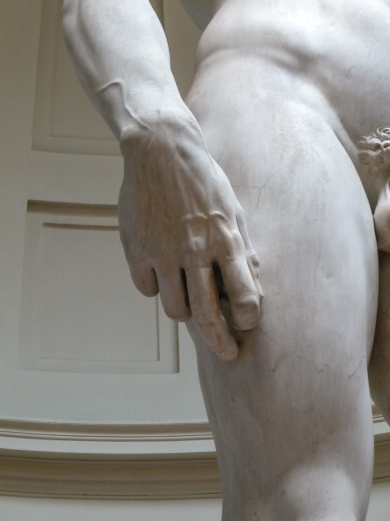 curiosità david michelangelo